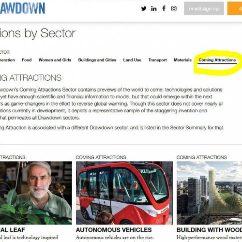 Drawdown Coming Attractions
